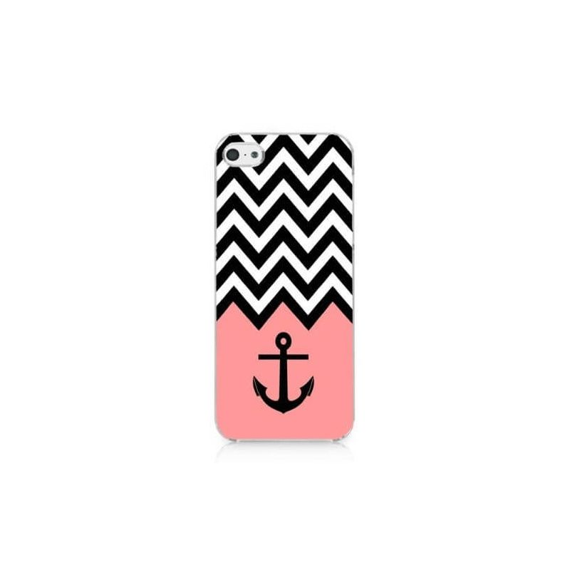 Pink Navy Anchor and Arrows Case iPhone 5/5S/SE