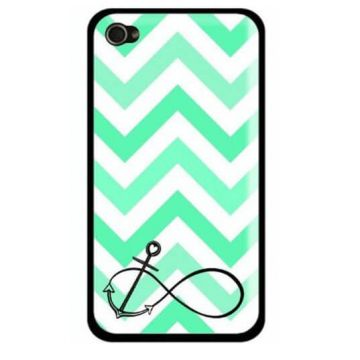 Turquoise Navy Anchor and Arrows Case iPhone 5/5S/SE