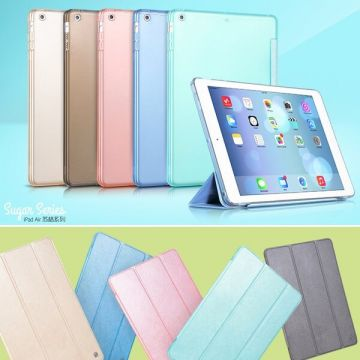 Hoco Sugar Series lederen cover iPad Air / iPad 2017 / iPad 2018 hoes