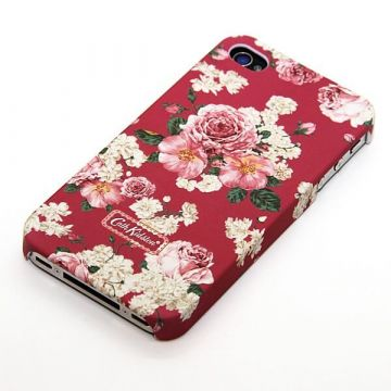 Coque fleurie framboise Cath Kidston iPhone 4 4S
