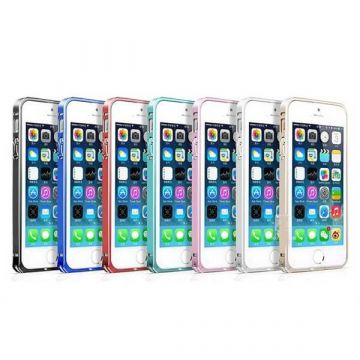 0,7 MM Ultra-dunne Aluminium Bumper iPhone 5/5S/SE