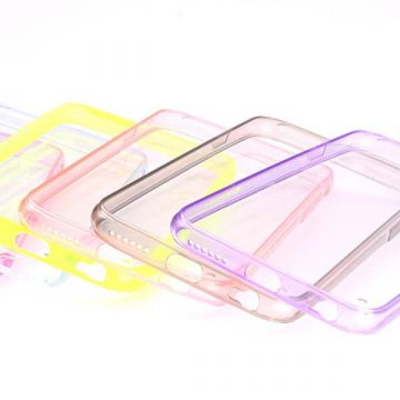 TPU soft case with colored frame iPhone 6