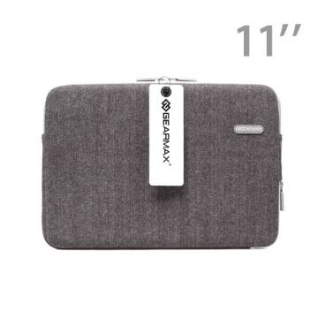 "Gearmax Tweed wollen 11"" MacBook sleeve"