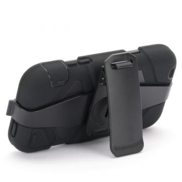 Indestructible Black Case for iPod Touch 4