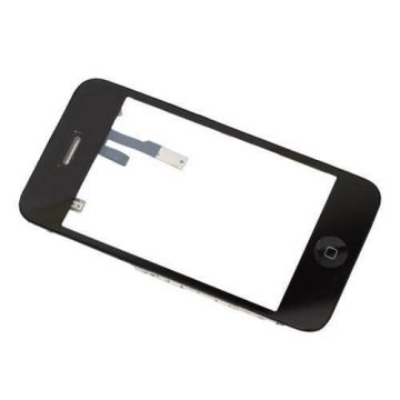 iPhone 3 touchscreen en frame zwart – iPhone reparatie
