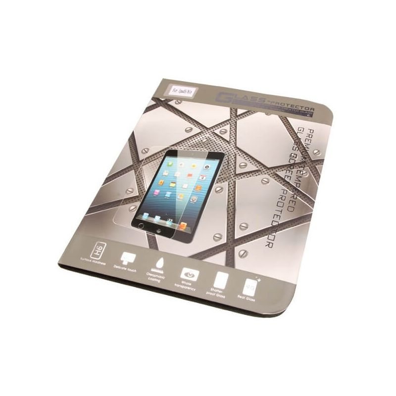 Front 0,26mm Tempered glass Screen Protector iPad Air/Air 2/Pro 9,7'