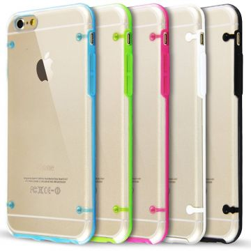 Coque TPU Contour Couleur iPhone 6