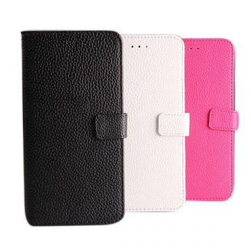 Etui portefeuille simili cuir iPhone 6 Plus