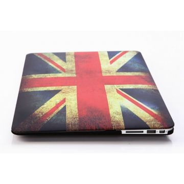 UK Vintage Flag Hard Case MacBook Air 13""