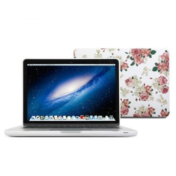 Coque fleurie English style MacBook Pro 13""