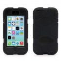 Indestructible Black Case for iPhone 4 4S