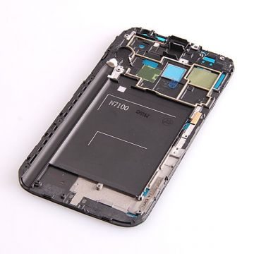 Chassis interne noir Samsung Galaxy Note 2 N7100