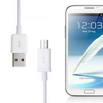 Micro USB Cable White for Samsung