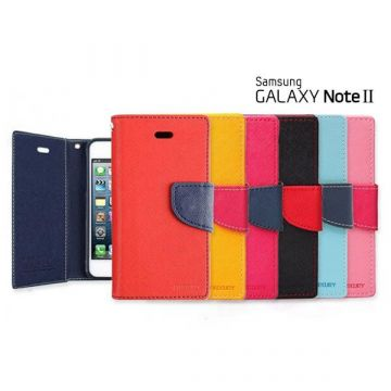 Etui portefeuille Mercury Samsung Galaxy Note 2