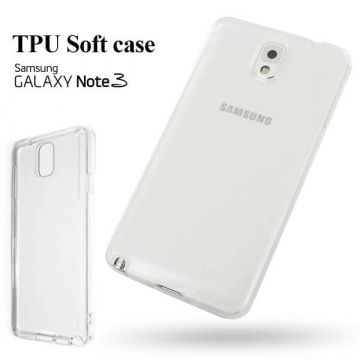 TPU Soft case transparent 0,3 mm Samsung Galaxy Note 3
