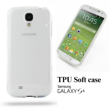 TPU Soft case transparent 0,3 mm Samsung Galaxy S4