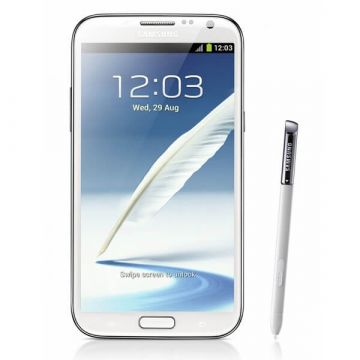 Stylet tactile touch pen blanc Samsung Note 2