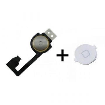 Home button iPhone 4S wit met connector
