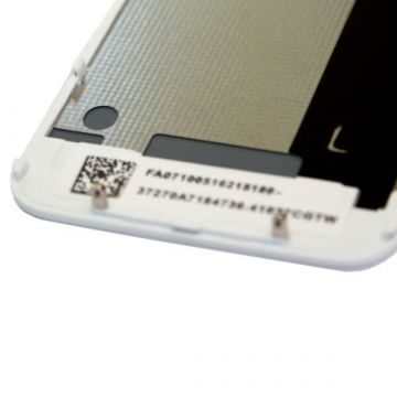 Vervangings Backcover glas IPhone 4S Wit