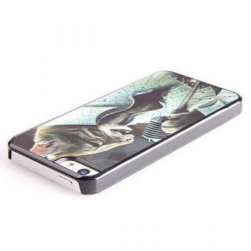 Cat Elvis Style Hard Case iPhone 5 5S