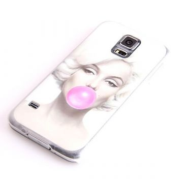 Marilyn Monroe Bubble Gum Hard Case Samsung Galaxy S5