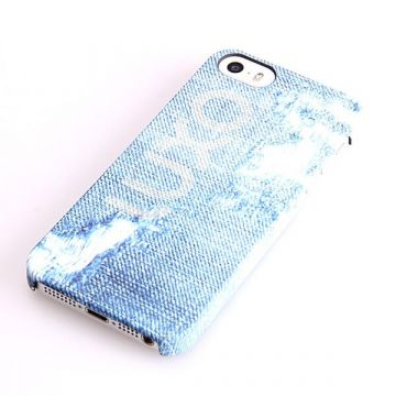 Destroy Denim Pattern Hard Case iPhone 5/5S/SE