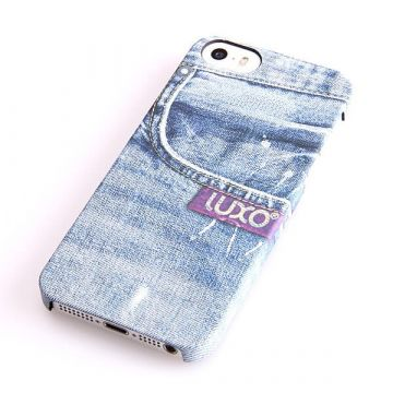 Used Pocket Denim Dark Wash Pattern Hard Case iphone 5/5S/SE
