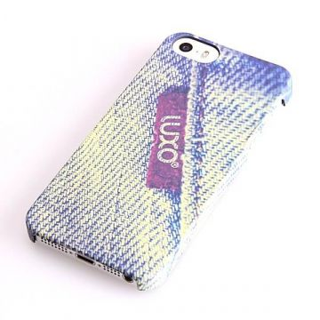 Coque Rigide Luxo Label Denim iPhone 5/5S/SE