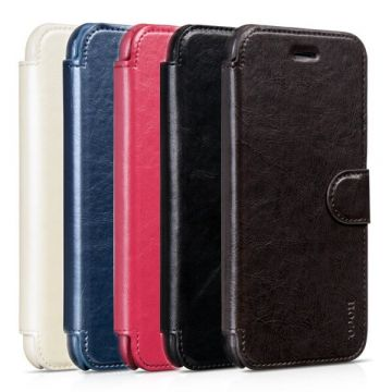 Etui portefeuille Cuir Hoco édition Portfolio Series iPhone 6 Plus
