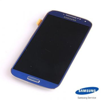 Original Complete screen Samsung Galaxy S4 GT-i9500 blue