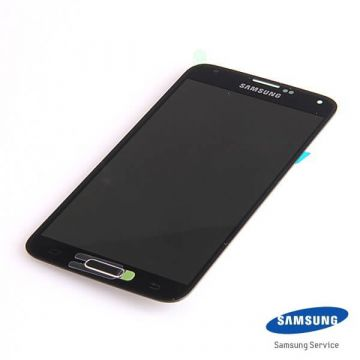 Original Complete screen Samsung Galaxy S5 SM-G900F black