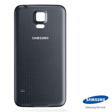 Originele backcover Samsung Galaxy S5 zwart