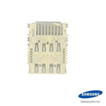 Lecteur de carte SIM original Samsung Galaxy Note 2