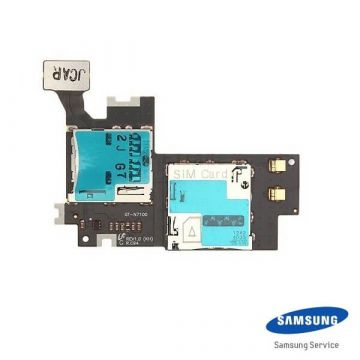 Original SIM connector Samsung Galaxy Note 2