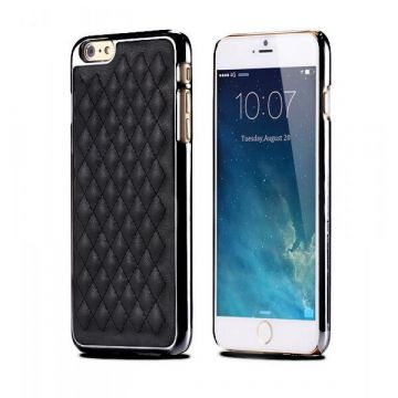 Quilted imitation leather hard case iPhone 6 Plus