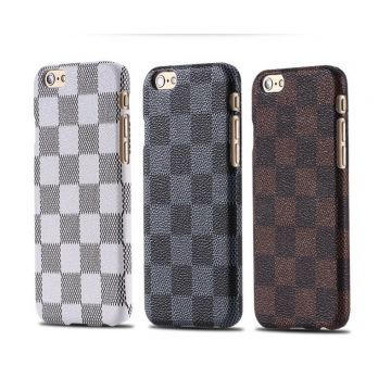Coque rigide damiers iPhone 6 Plus