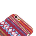 Coated Bolivian patterned iPhone 6 hard cover case