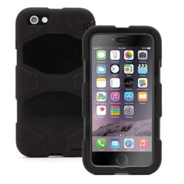 Coque indestructible noire iPhone 6 Plus/6S Plus
