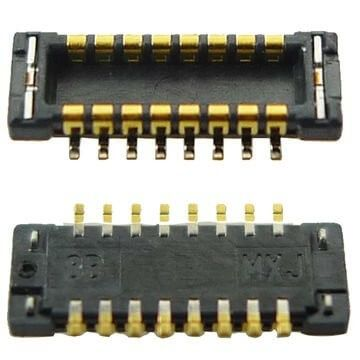 Frontje camera FPC connector voor iPhone 4